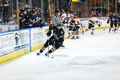 """Kansas City Mavericks vs. Ft. Wayne Komets, March 2, 2018, Silverstein Eye Centers Arena, Independence, Missouri.  Photo: © John Howe / Howe Creative Photography, all rights reserved 2018 • <a style=""""font-size:0.8em;"""" href=""""http://www.flickr.com/photos/134016632@N02/26768689088/"""" target=""""_blank"""">View on Flickr</a>"""