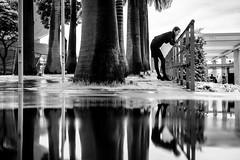 Singapore (tomabenz) Tags: noir et blanc bnw sony a7rm2 urban zeiss asia noiretblanc puddlegram reflection bw singapore human geometry black white monochrome streetview street photography blackandwhite humaningeometry sonya7rm2 streetphotography