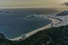 Praia de Copacabana e Ipanema (mcvmjr1971) Tags: trilhandocomdidi d7000 bondinho cablecar f28 mmoraes nikon pordosol pãodeaçucar riodejaneiro sugarloaf sunset tokina1116mm vistadecima explorer explore wonderful amazing surreal colors city