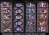London, Inner Temple - Temple Church (29, 32, 33 & 34) (Padski1945) Tags: london londonchurches londonscenes innertemple nrfleetstreet templechurch churches churchesofengland stainedglass stainedglasswindow stainedglasswindows churchesandcathedralsofengland
