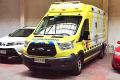 Ford Transit Ambulancia SAMU - Santiago, Chile (RiveraNotario) Tags: fordtransit chile