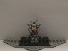 Lego Custom: Silver Samurai (Marvel) (Captain Crafter) Tags: lego villain villains custom silver samurai wolverine xmen x men deadpool movie movies comics marvel superheroes super