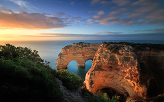I ❤ Portugal (Adam West Photography) Tags: adamwest albandeira algarve arch arches arco cliffs clouds composition dusk goldenhour heart juniper longexposure loveheart marinha mesquita natural photographer portugal praia sea stone sunrise sunset wbpa