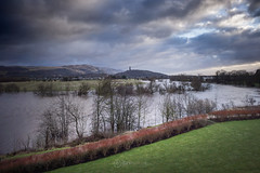 Flood - 24 Jan 2018 - 04 (ibriphotos) Tags: kildeanloop snowmelt january flood wallacemonument river water stirling riverforth fvcsteps winter