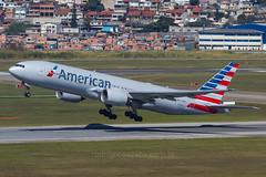 N759AN (rcspotting) Tags: n759an boeing 777200 american airlines gru sbgr