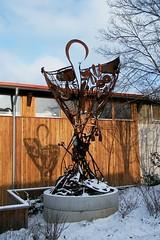 Schrott Kunst Siakkou-Flodin (mo_metalart) Tags: erdmannhauser huoberbrezeln demeterkunstwerk demeterskulptur schrottkunstwerk schrottstatue kunstwerkausschrott scrapart exitingscrapart