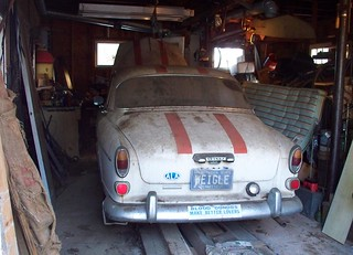 Volvo Amazon with Patina -Barn Find