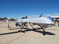 "General Atomics MQ-1 Predator 1 • <a style=""font-size:0.8em;"" href=""http://www.flickr.com/photos/81723459@N04/28427592059/"" target=""_blank"">View on Flickr</a>"