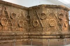 Facade of Qasr Mshatta, Umayyad, 8th cent.; Pergamon Museum, Berlin (12) (Prof. Mortel) Tags: germany berlin pergamonmuseum islamic umayyad mshatta