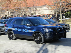 Rockwood Polce Department (Evan Manley) Tags: rockwood michigan policedepartment blue line police glenn anthony christopher doss funeral service procession lawenforcement fordexplorer