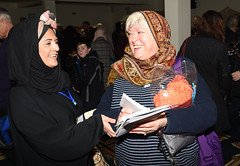 L/R Tasneem Dahegamia and Denise Holdsworth enjoy time together during the visit my mosque day (blackburndiocese) Tags: archbishopofyork bishop bishopofblackburn julianhenderson philipnorth geoffpearson faith mission missionevent bible christ johnsentamu whalley kirkham blackburn blackpool garstang tunstall lancasterandmorecambe cathedral whalleyabbey poulton chorley leyland preston accrington burnley pendle vision2026 evangelism evangelist evangelising lectern pulpit pew procession crossroads crossroadsmission lancashirediocese newcastlediocese durhamdiocese yorkdiocese leedsdiocese sheffielddiocese southwellandnottsdiocese carlislediocese manchesterdiocese liverpooldiocese sodorandmandiocese chesterdiocese churchofenglandinlancashire churchofengland witness prayer jesus jesuschrist god holyspirit reformation crossroads2016 crossroadslancs messychurch messyeucharist eucharist eucharisticfestival cathedralcelebration