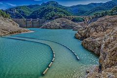 PANTANO DE ULLDECONA (juan carlos luna monfort) Tags: embalse agua rio lasenia puente paisaje naturaleza hdr nikond7200 irix15 calma paz tranquilidad