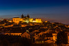 The heart of Portugal (Artur Tomaz Photography) Tags: cathedral yellow arquitecture blue bluehour building houses light sé tree viseu portugal