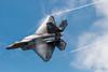 It Doesn't Need a Smoke Machine! (barnmandb65) Tags: f22 raptor fighter jet vapor trails engine glow rainbow cockpit battlecreek michigan
