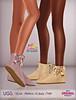 [Sheba] Ugg short boots (BELLEZA /SLINK /TMP /EBODY) (QnSheba ♡) Tags: secondlife sl sheba shebacreations slink shoes shoegasm secondlifeshoes secondlifeboots maitreya tmp themeshproject belleza body ebody 3d avatar fashion flats boots booties virtualworld