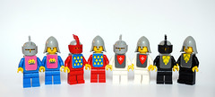 Classic castle minifigs 1978-2018 (Vanjey_Lego) Tags: lego minifig minifigs minifigure minifigures classiccastle classic knight knights 375 6075