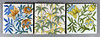 Dutch Arts and Crafts tiles (robmcrorie) Tags: arts crafts dutch holland bamboo flower hand painted thomas lesley murray marks 19th century portland iron works ceramic tile
