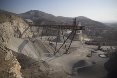 Mine, Veles (Duncan R S Harvey) Tags: europe easterneurope southerneurope macedonia veles mining mine factory industry industrial winter hills mountains