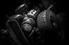 MOTORFEST '17 (Dave GRR) Tags: vehicle auto hotrod ratrod vintage antique classic headlight black mono monochrome chrome grill show motorfest canada 2017 olympus omd em1 1240