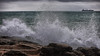 Atlantic Ocean (diwan) Tags: portugal regiãodelisboa grandelisboa cascais city stadt place atlanticocean atlantic ocean oceanside seaside location wellenbrecher breakwater welle wave water wasser splash spritzer felsen himmel sky ship detail filter google nikcollection plugins colorefexpro4 canonef70200mmf28lisusm canoneos5dmarkiv canon eos 2017 geotagged geo:lon=9423000 geo:lat=38689872
