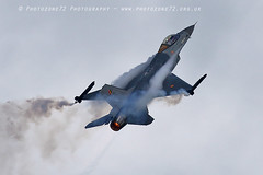 6491 Belgian Air Force F16 (photozone72) Tags: eastbourne airshows aircraft airshow aviation f16 belgianairforce belgian canon canon7dmk2 canon100400mm 7dmk2 jet