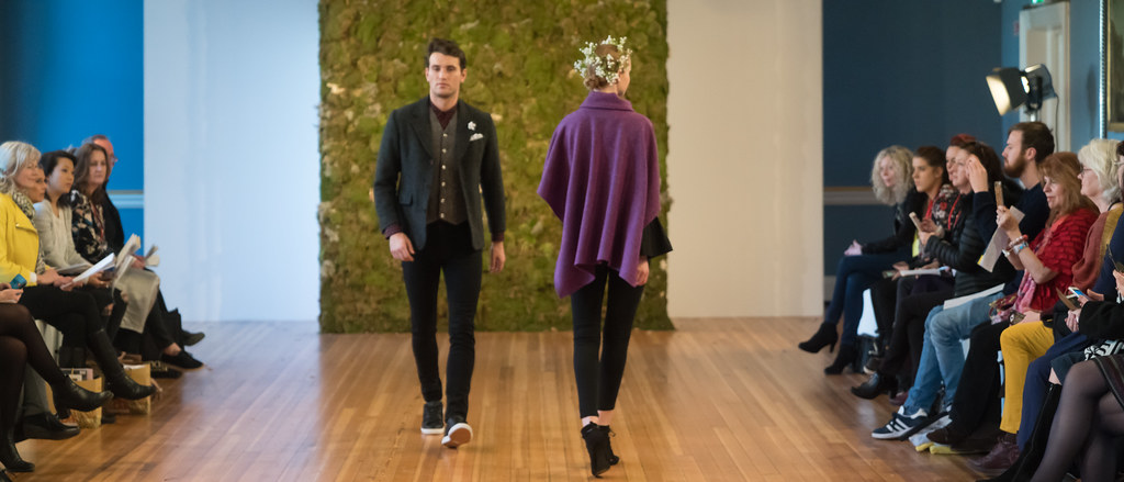 MADE-Slow PRESENTATION OF QUALITY IRISH FASHION DESIGN - STUDIO DONEGAL [FASHION SHOW AT THE RDS JANUARY 2018]-136239