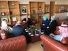 استقبال الشاعر عبدالعزيز سعود البابطين رئيس مؤسسة عبدالعزيز سعود البابطين الثقافية. (جماعة فاس) Tags: استقبال الشاعر عبدالعزيز سعود البابطين رئيس مؤسسة الثقافية