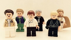 Young & Old (valeolligio) Tags: young old han luke leia starwars 2018 lego