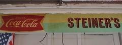 Yates Center, Kansas (Jasperdo) Tags: kansas roadtrip smalltown downtown yatescenter steiners cocacola coke sign