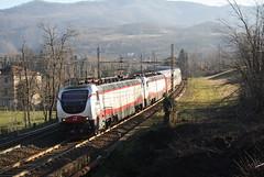Russi in doppia... (Maurizio Zanella) Tags: treni trains ferrovia railways trenitalia fs rzd pkp e402b176 e402b172 exp13013 italia alessandria rigoroso