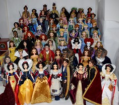 Disney Limited Edition 17 Inch Dolls 2009-2017 - My Collection (drj1828) Tags: disneystore disneyparks 17inch posable collectible heirloom collector doll vinyl snowwhiteandthesevendwarfs beautyandthebeast tangled aliceinwonderland alicethroughthelookingglass disney limitededition theprincessandthefrog brave cinderella thelittlemermaid frozen sleepingbeauty aladdin moana elenaofavalor