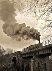 Blast from the Past (garstangpost.t21) Tags: freight 80080 eastlancashirerailway elr brclass4mt irwell summerseat