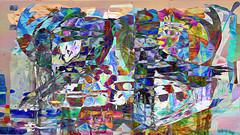 Zwiegespraech 01b abstrakt skulptural (wos---art) Tags: bildschichten zwiegespräche dialog kommunikation auseinandersetzung beziehung gespräch unterhaltung gott god begegnung meeting