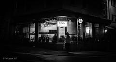 O'Shio (amipal) Tags: 175mm brighton city england gb greatbritain night restaurant sussex uk unitedkingdom urban voigtlander street bw blackandwhite