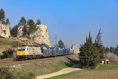 186 341 sur le 49247 (Maxime Espinoza) Tags: br e 186 341 ecr euro cargo rail train de marchandises avignon traxx bombardier graveson cerbere 49247