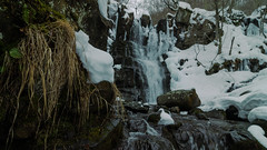 Explore the country (Mr.Freps) Tags: country mountain italy wood tree waterfall lake river water winter snow cold white