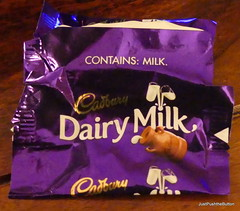 Stating the obvious? (robbie20161) Tags: chocolate milkchocolate wrapper confectionary irony humour life