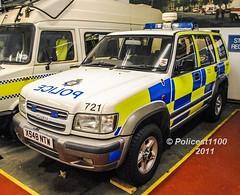 MOD Police Isuzu Trooper X548 NTW (policest1100) Tags: mod police isuzu trooper x548 ntw ministry defence