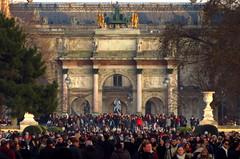 Arc de triomphe du Carrousel, Paris (blafond) Tags: arcdetriomphe archoftriumph carrousel masstourism tourismedemasse tourisme tourism paris france iledefrance