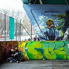 Genève - La Praille (olivierurban) Tags: switzerland genève geneva suisse swiss lancy praille route jeunes pont bridge sonyilce6000 fe55mmf18za