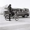 Challenge (KANAPHOTO :D) Tags: blackwhite monochrome rolleflex car china beijing between iiford kanafilmphoto while people shadow highlight dark filmcamera life bicycle mediumformat