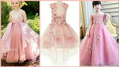 Kid's Princess Style frock Dresses 2018 - Latest Kids Party Wear Dress Collection (The Beauty Writer) Tags: kids princess style frock dresses 2018 latest party wear dress collection