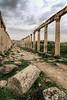Ancient Jerash, Jordan (Aethelweard) Tags: jerash jerashgovernorate jordan jo ancient roman greek city temple columns sky old historic building architecture ruins abandoned canon