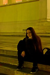 (ChristiannaGerou) Tags: nikon d7200 nikond7200 outdoor greece winter athens urban girl young lookslikeanoldphoto