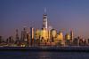 NYC Skyline (cdowney1981) Tags: nyc newyorkcity skyline cityscape wtc worldtracecenter oneworldtradecenter sunset