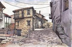 Miranda del Castañar 5 (P.Barahona) Tags: urbano rural arquitectura calle casas