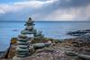 Finding Balance (FJMaiers) Tags: lakesuperior northshore splitrocklighthousestatepark lake shore basalt nikon d5300 snow formation balance
