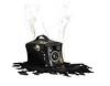 Hot Exposure! (MixPix ) Tags: camera agfasynchrobox melting black smoke hot melt abstract