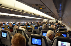 Thomas Cook Airlines Airbus A330 - 300 Cabin view (prahatravel) Tags: gra canaria canary islands kanariøyene trip 2018 january holiday travel spain kanarieöarna las palmas gran playa del ingles charter reise spania from sun warm thomas cook airlines scandinavia oyvkh værnes trondheim airport flyplass airbus a330 300 flight