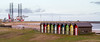 Huts. Beach Huts. (CWhatPhotos) Tags: cwhatphotos photograph pics pictures pic picture image images foto fotos photography artistic that which contain digital blyth north east england uk beach seaside coast huts hut color colors colour colours